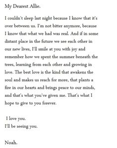 The notebook...sad and inspiring at the same time.