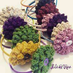 The Flower Headbands are the top sellers this StitchNRoo Spring Season! Leap on and get yourself one! #LeapOn with #StitchNRoo #LeapYear #FlowerHeadband #FlowerHeadbands #Handmade #DesignsAndCreations #CrochetersOfInstagram #IGCrochet #Crochet email me at stitchnroo@gmail.com Colors: Pink - Purple - Oatmeal - Yellow - Green - Red - Navy Blue - Turquoise by stitchnroo
