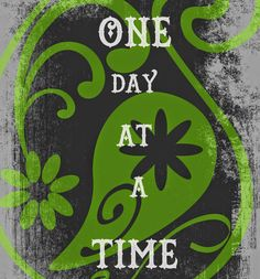 One Day At A Time...: I like to create