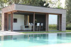 Poolhouse? Kies uit cottage en moderne poolhouses op maat - Veranclassic