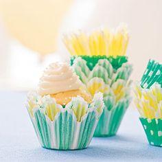 Sour Cream-Pound Cake Cupcakes (Basic Cupcake Batter) |