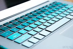 Laptop Love with Keycals keyboard stickers by kidecals