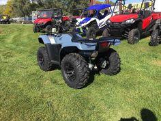 New 2017 Honda Rancher 4x4 Auto DCT w/EPS - Sedona ATVs For Sale in South Dakota. 2017 HONDA Rancher 4x4 Auto DCT w/EPS - Sedona, 2017 Rancher is equipped with Sedona Riot rims and Sedona Mud Rebel tires, fronts 26x9-12 rears 26x12-12.