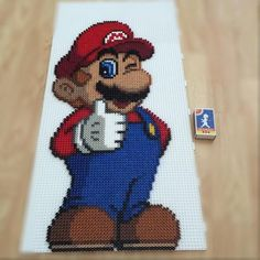 Super Mario perler beads by amea_pixelart