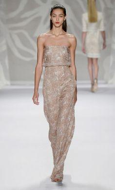 Mercedes-Benz Fashion Week : Spring 2014 MONIQUE LHUILLIER
