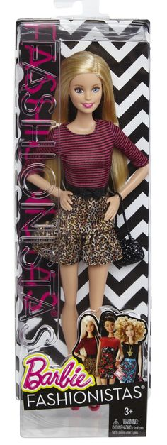 Original Body Type with Floral Dress AA Barbie Fashionistas Doll #106 NEW