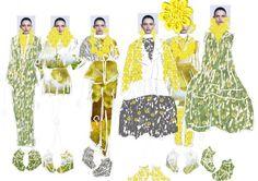 Fashion portfolio collection lineup