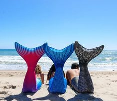 Let's hit the beach in our Fin Fun Mermaid Tails!