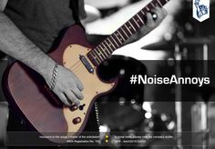Don't make your neighbours deaf. Turn the volume down because #NoiseAnnoys