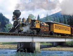 Durango Express is a 500 piece jigsaw puzzle Springbok puzzle company Steam #Train #JigsawPuzzles | Jigsaw Puzzles For Adults http://jigsawpuzzlesforadults.com/steam-train-jigsaw-puzzles/