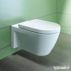 Duravit Starck 2 Wand-Tiefspül-WC weiß mit WonderGliss