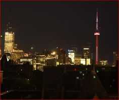Night-time view from front of hotel, picture Ontario, Yorkville Toronto, Hotel Reviews, Night Time, Cn Tower, Trip Advisor, Hotels, Building, Pictures