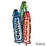Crayon Balloons!