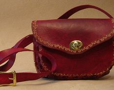Lyn Handmade Brown Leather Crossbody Bag  Shoulder Purse