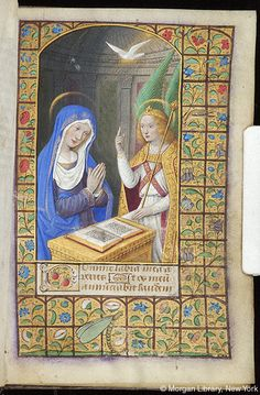 Book of Hours, MS M.291 fol. 14r - Images from Medieval and Renaissance Manuscripts - The Morgan Library & Museum