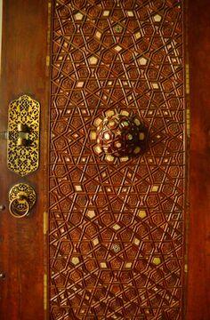 Door detail at Rustem Pasha Mosque, Istanbul, Turkey. Photo: Doug Johnson