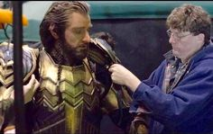 Thorin in make up