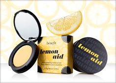 Lemon Aid - Helps correct dull uneven skin tone especially on the eye lids. Great for when you don't want to do full face makeup.