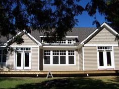 Tuscan Clay Prodigy with Matching Foundry Shakes #siding