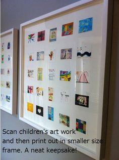 framed mini art