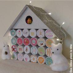 29 advent calendar made of toilet paper rolls - 101ideer.se