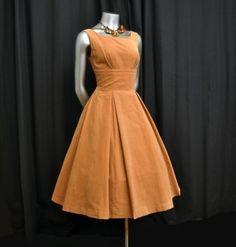 vintage corduroy dress by Miranda Rietzen