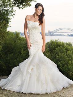 Vestidos de novia para verano 2013 Sophia Tolli | Boda Hoy