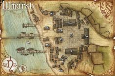 pathfinder town map - Google Search