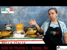 Just a little chat about gluten intolerance and gluten free products. You can find our gluten free recipes at http://bellaitaliareno.blogspot.com