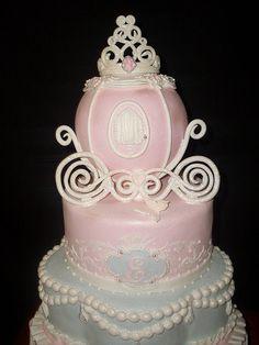 Cinderella Cake ~ Gracie, 11,  said i needed a princess cake for my birthday.