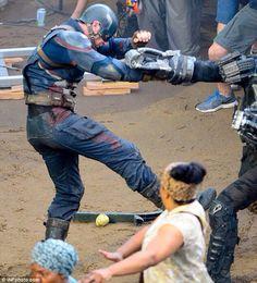 Captain America: Civil War set shots