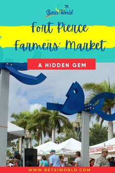 Looking for a great way to spend a Saturday morning with the whole family? The Fort Pierce Farmers' Market is a perfect solution! The market is family friendly and pet-friendly, so bring your four-legged family member with you as you wander through the market. //family time//weekend adventure//trips to florida//florida trips// #florida ##weekendgetawayideas Florida Vacation, Florida Travel, Florida Trips, Romantic Bucket List, Road Trip Checklist, Romantic Getaways, Weekend Getaways, Farmers Market, Family Travel