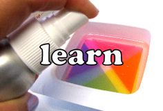 Learn how to make glycerin soaps!