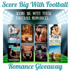 Score Big With These Football Romances just in time for the first weekend of football! #ScoreWithRomance""