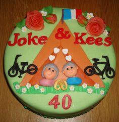 Joke & Kees 40 jaar getrouwd