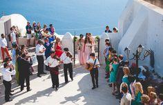Summer destination wedding in Santorini | Maria & Konstantinos  - Love4Wed #weddingingreece #santorini