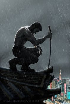 Wolverine will tear apart the Japanese samurai. Hugh Jackman back role as the clawed mutant figure in THE WOLVERINE.