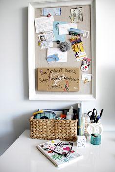 The desk of co-founder @Danielle Lampert Moss