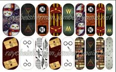 Harry Potter jamberry nails Email raychel.sherman@yahoo.com to purchase!