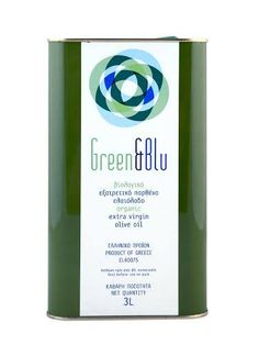 ''GREEN N BLU'' Organic Extra virgin olive oil 3 L Olive Oils, Balsamic Vinegar, Greece, Organic, Greece Country, Olive Oil