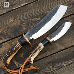 "550 Likes, 7 Comments - Behring Made Knives (@behringmade) on Instagram: ""The @behringmade Parang set in Sambar Stag is a killer set up for just about anything from skinning…"""