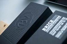 tarjetas de presentacion negras - Buscar con Google