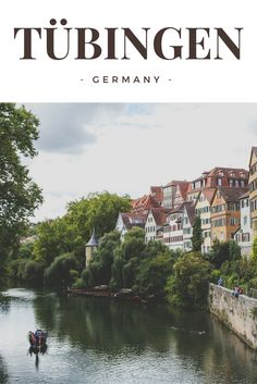 Tübingen is one of the prettiest cities I know - if not THE prettiest of them all. When travelling Germany YOU HAVE to visit this beautiful university town in Baden-Wuerttemberg.