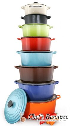 le creuset - many colors to pick from-Enameled Cast Iron