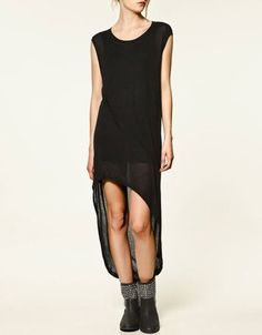 I wish to be in France to be able to buy so cheap fancy clothes - Zara asymmetrical dress