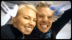 Nea and Sauli - Screencap from this video: http://www.seiska.fi/Kayttajien-sisaltoja/Sauli-and-Nea-Week-3/1017423
