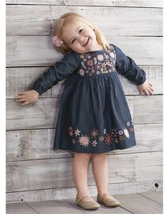Cute Baby Girl Outfits, Toddler Girl Outfits, Cute Baby Clothes, Toddler Dress, Baby Girls, Baby Girl Fashion, Toddler Fashion, Kids Fashion, Little Kid Fashion