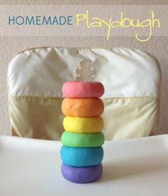 Homemade Play Dough - Our Paleo Life