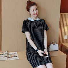 Have led summer short-sleeved T-shirt blood women's long-sleeved long-sleeved clothes on the big clothes dress group fat sister