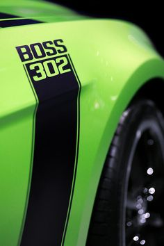 Ford Mustang - BOSS 302